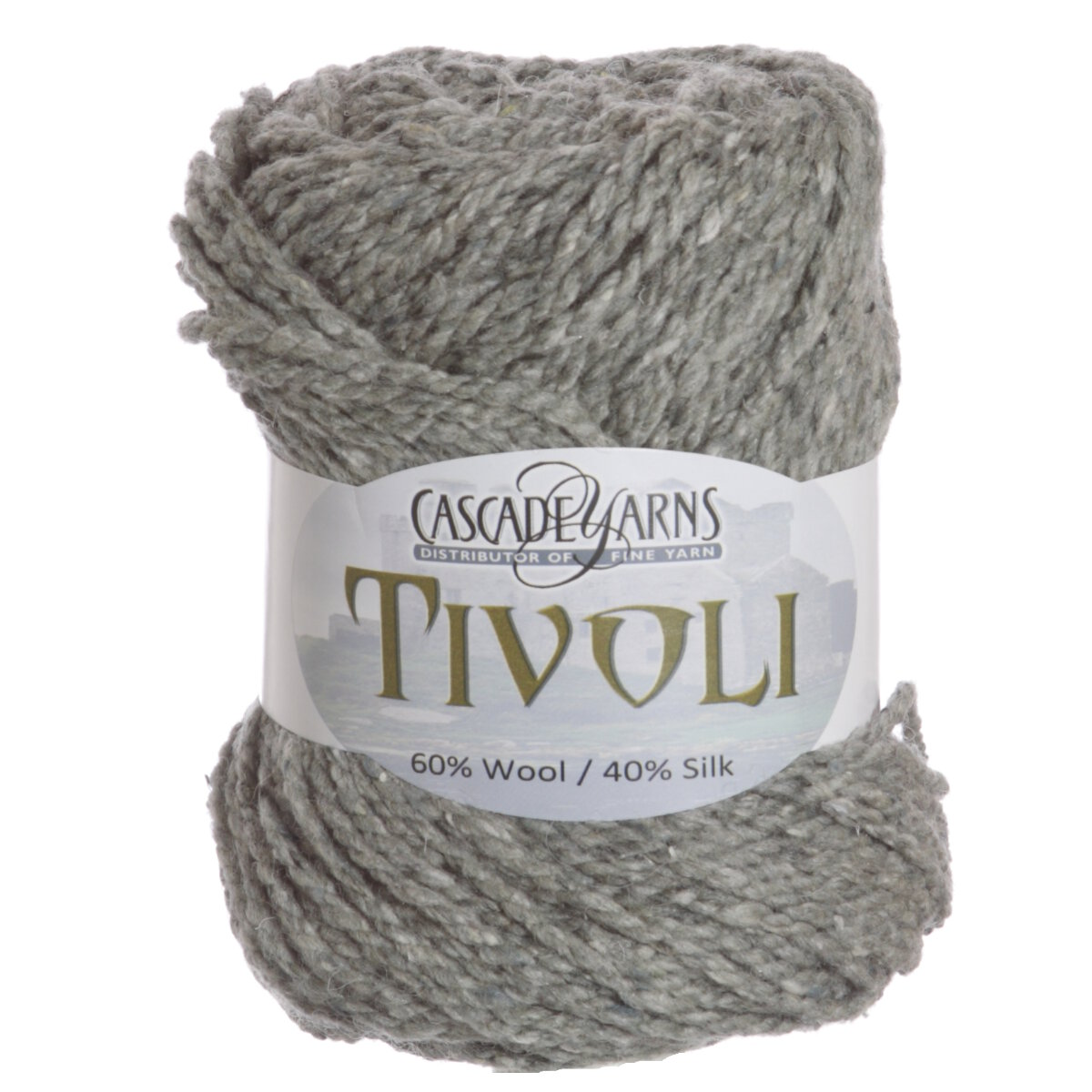Cascade Tivoli Yarn - 02 Sterling at Jimmy Beans Wool