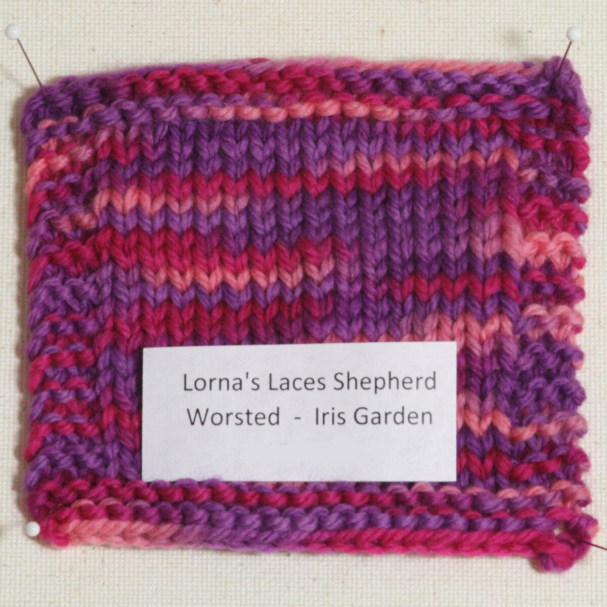 Lornas Laces Shepherd Worsted Samples Yarn - Iris Garden at Jimmy Beans ...