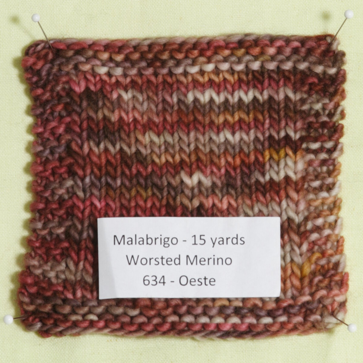 Knitting Patterns For Worsted Wool : Malabrigo Worsted Merino Samples Yarn at Jimmy Beans Wool