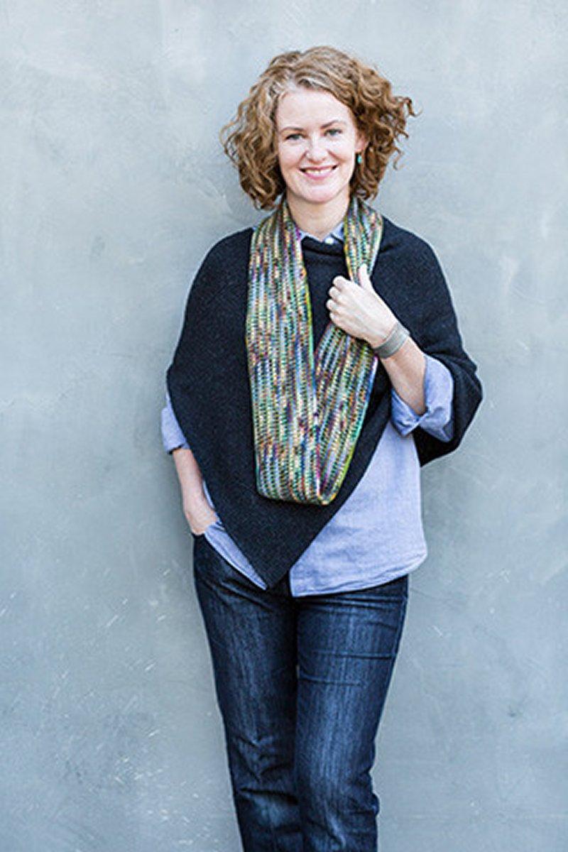 Churchmouse Classics Patterns - Crocheted \'Linen Stitch\' Scarf ...