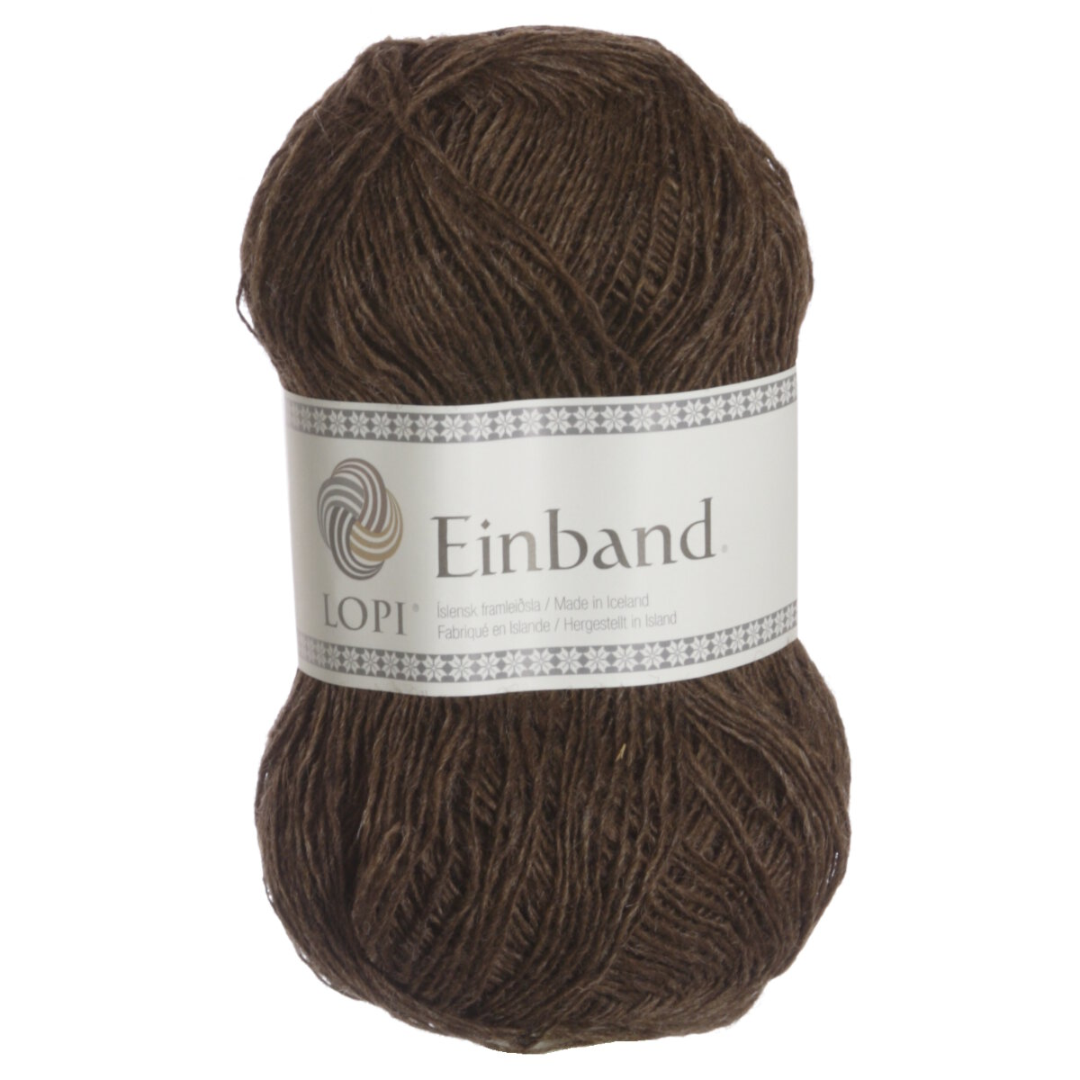 Knitted Balls Pattern : Lopi Einband Yarn - 0853 Brown Reviews at Jimmy Beans Wool