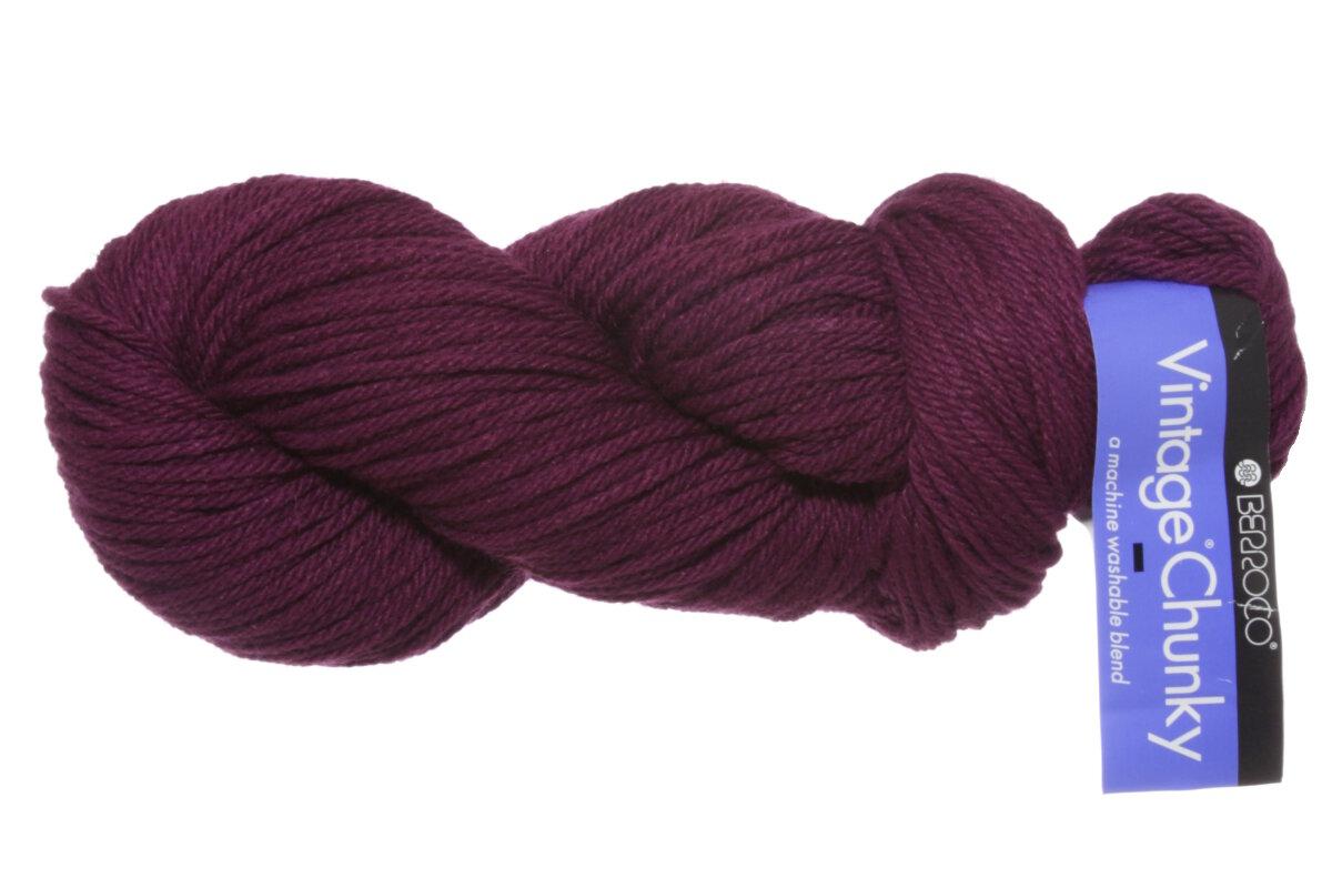 Berroco Yarn : Berroco Vintage Chunky Yarn - 6161 Magenta at Jimmy Beans Wool