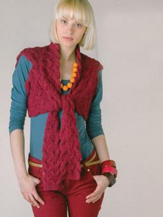Rowan Pattern Books Knitted Scarves Shrugs At Jimmy Beans Wool