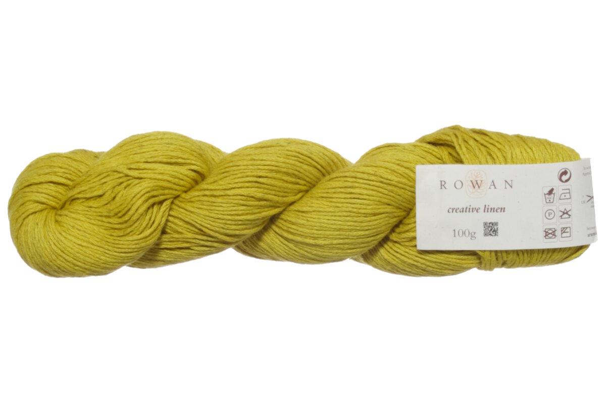 Rowan Creative Linen Yarn 647 Mustard At Jimmy Beans Wool