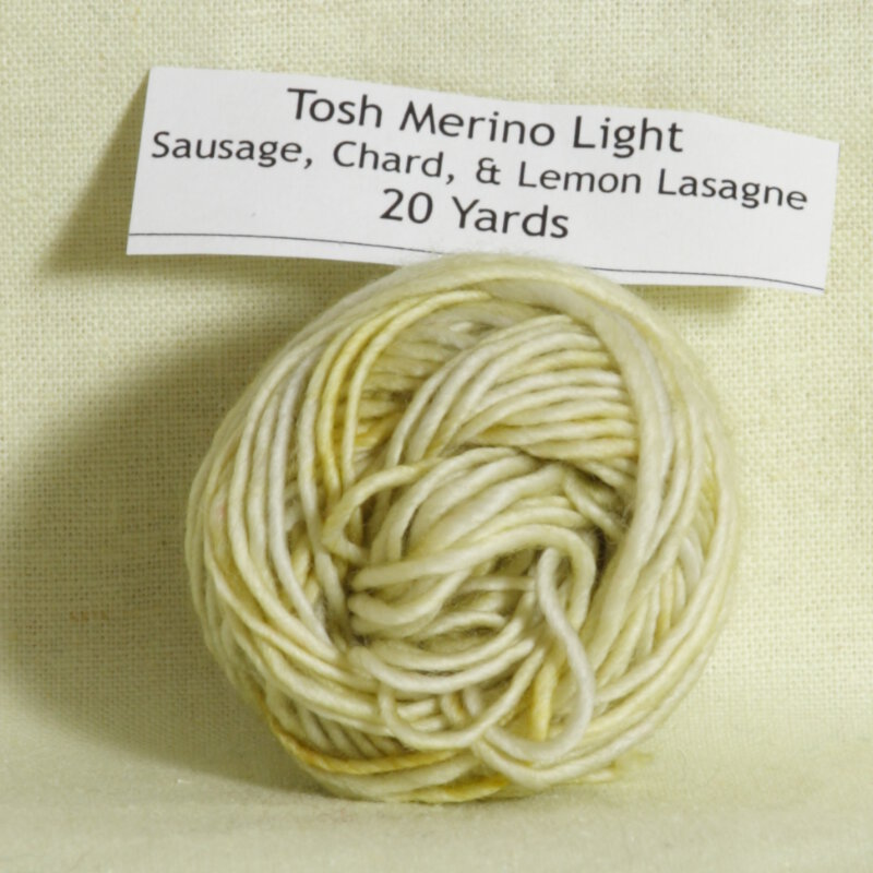 Madelinetosh Tosh Merino Light Samples Yarn - '15 February ...