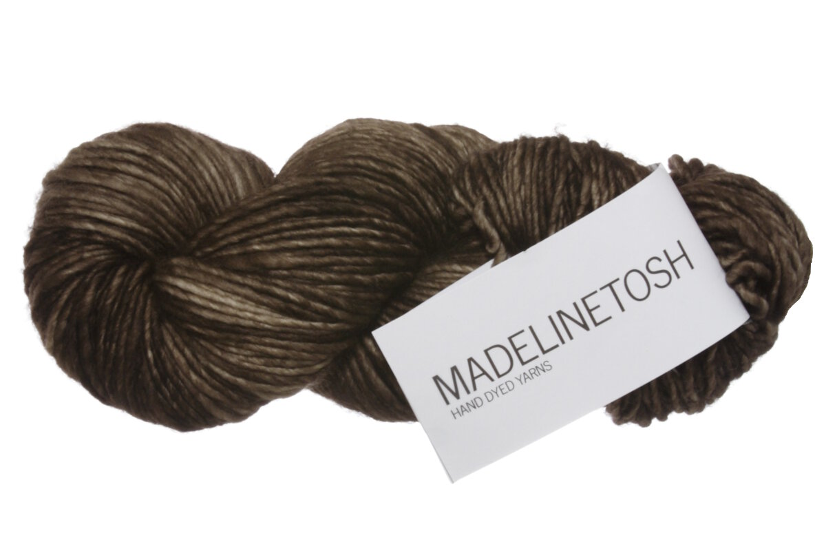 Madelinetosh Tosh Merino Yarn Pecan Hull Discontinued
