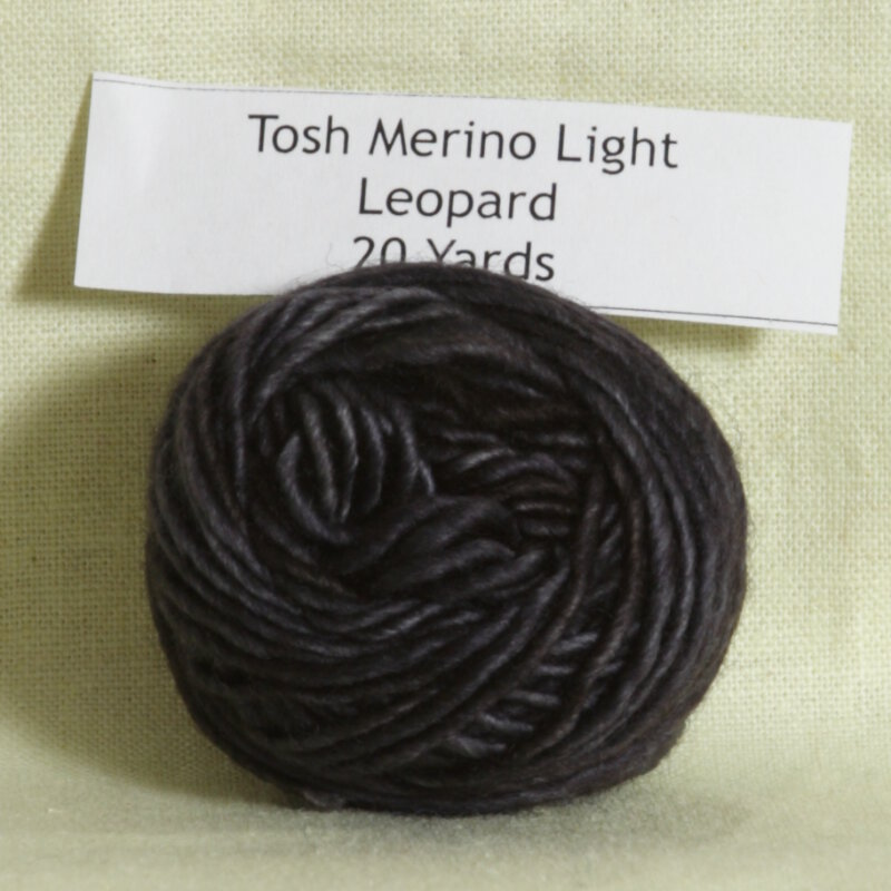 madelinetosh tosh merino light samples yarn leopard project ideas at. Black Bedroom Furniture Sets. Home Design Ideas