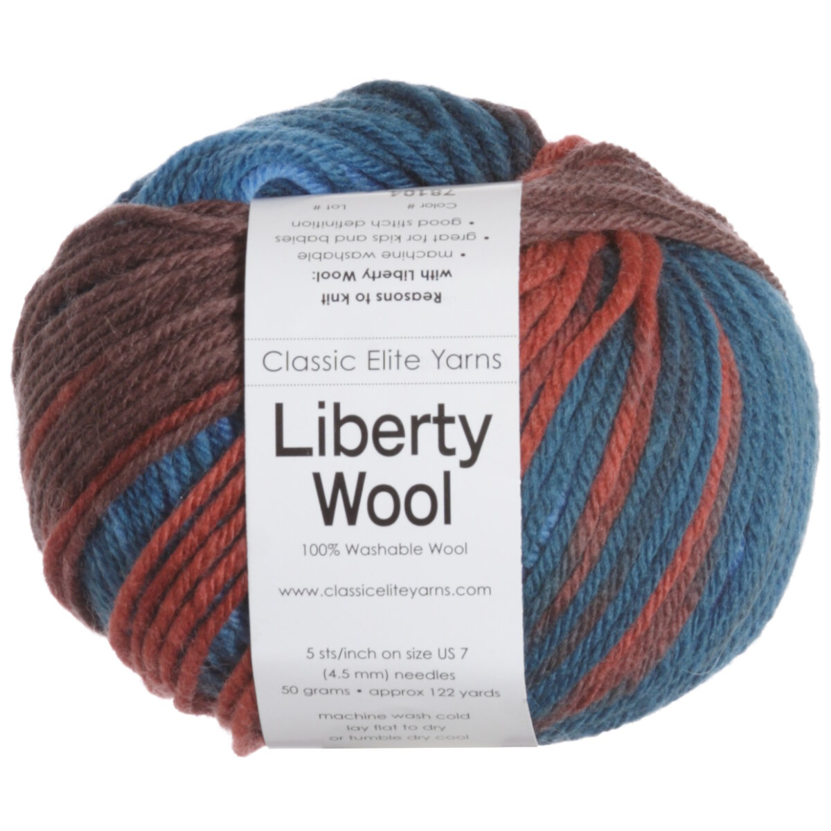 Classic Elite Liberty Wool Print Yarn - 78104 October at Jimmy Beans Wool