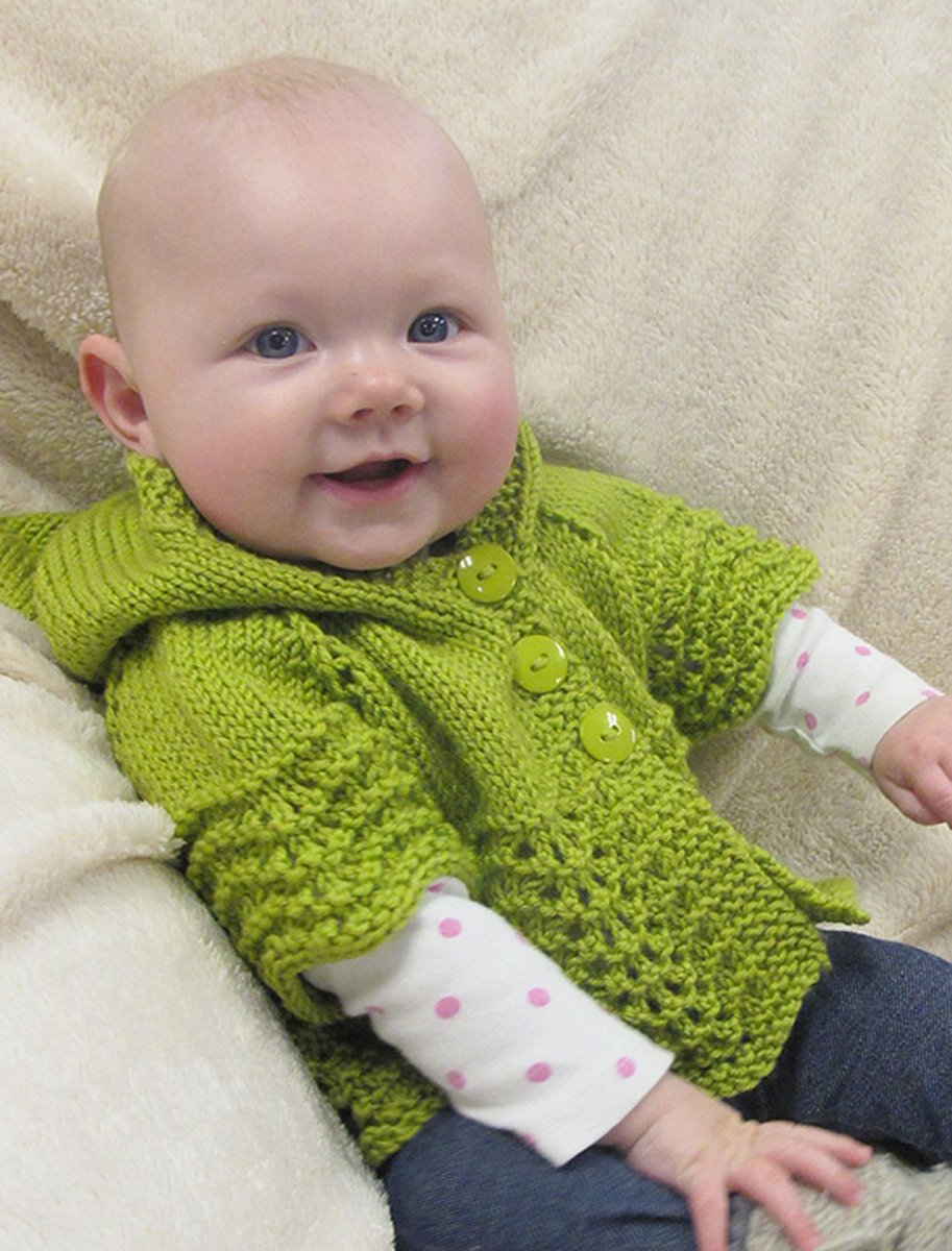 Knitting Pure and Simple Baby & Children Patterns - 1505 - Lacy Baby ...