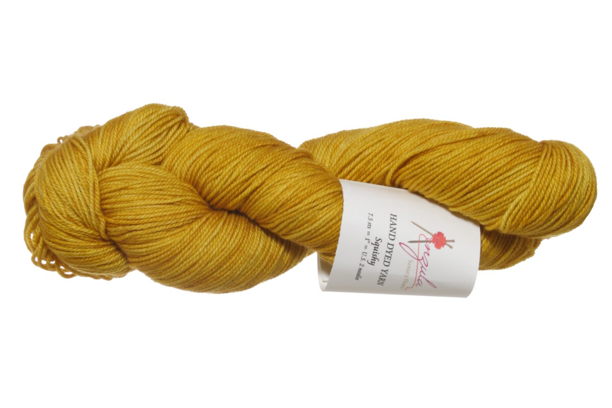 Anzula Squishy Yarn - Saffron Reviews at Jimmy Beans Wool