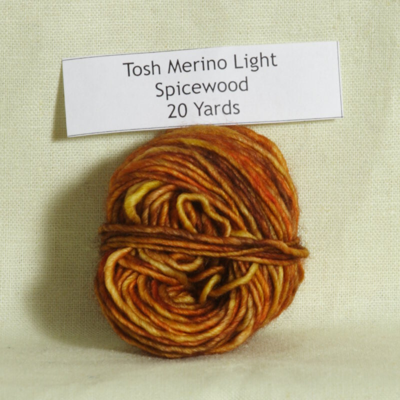 madelinetosh tosh merino light samples yarn spicewood discontinued. Black Bedroom Furniture Sets. Home Design Ideas