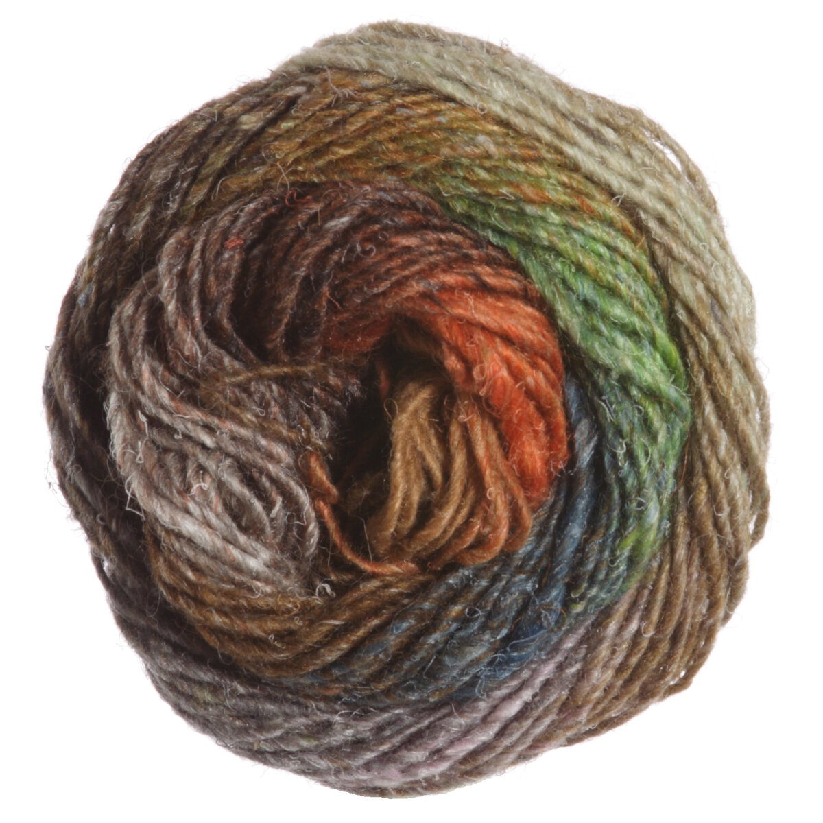 Noro Silk Garden Yarn - 417 Rust, Brown, Natural at Jimmy Beans Wool