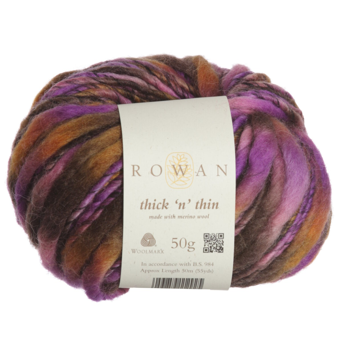 Knitting Patterns For Thin Yarn : Rowan Thick n Thin Yarn - 979 Fossil at Jimmy Beans Wool