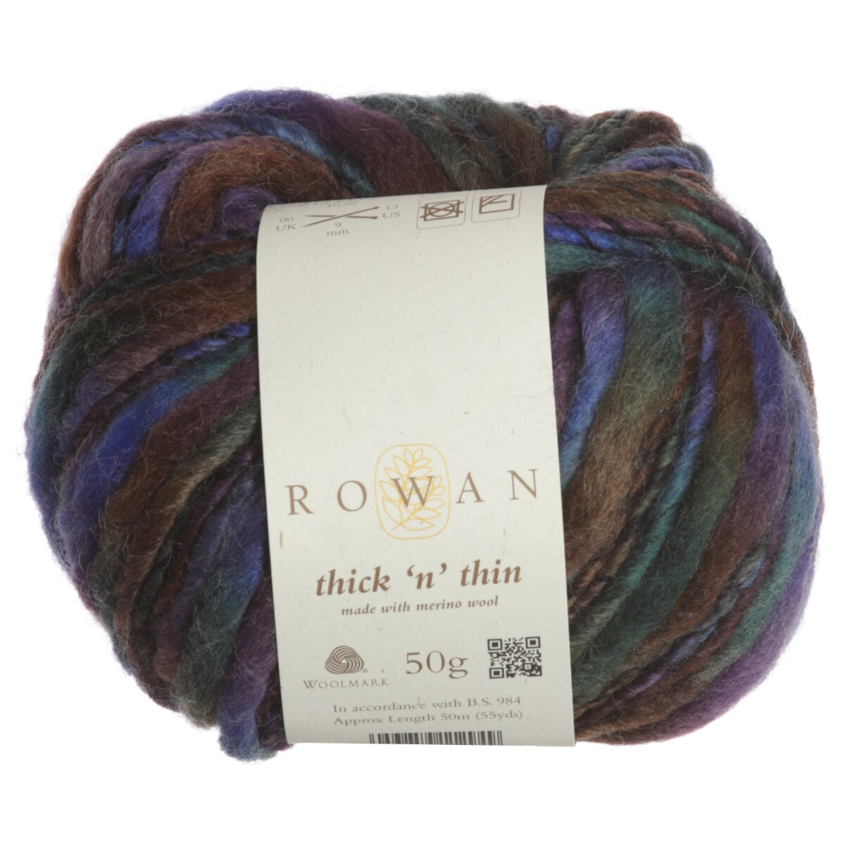 Knitting Patterns For Thin Yarn : Rowan Thick n Thin Yarn - 981 Hill at Jimmy Beans Wool