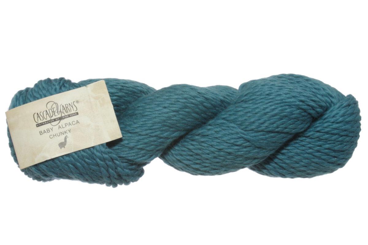 Cascade Baby Alpaca Chunky Yarn 644 Green Blue Slate