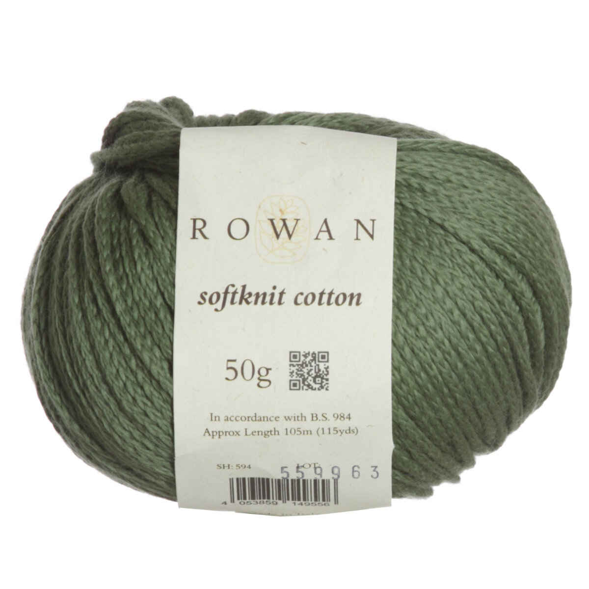 Rowan Softknit Cotton Yarn - 594 Forest Reviews at Jimmy Beans Wool