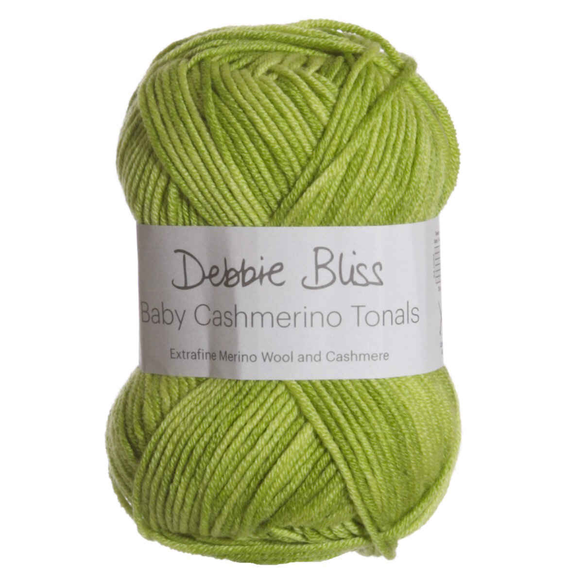 Debbie Bliss Baby Cashmerino Tonals Yarn - 04 Lime at Jimmy Beans Wool