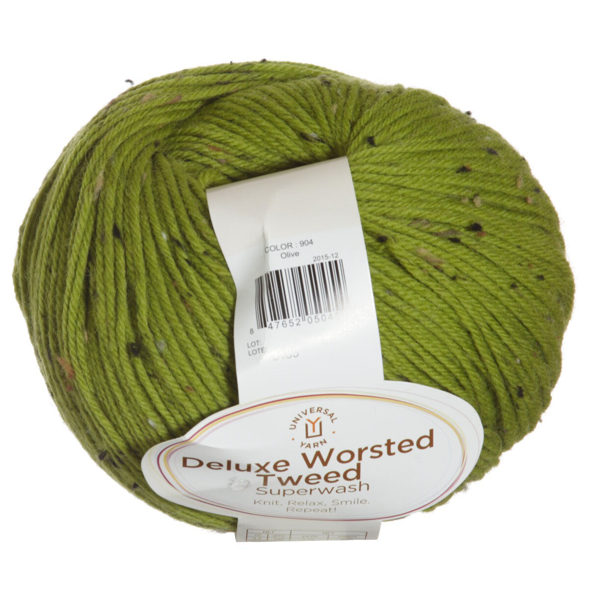 Universal Yarns Deluxe Worsted Tweed Yarn 904 Olive At