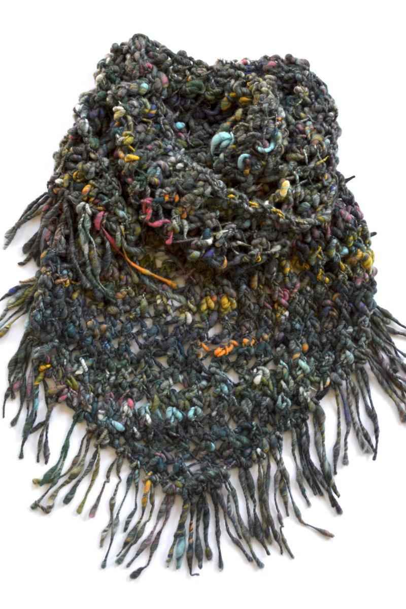 Knit Collage Patterns - Cozy Cast Away Wrap - PDF DOWNLOAD ...