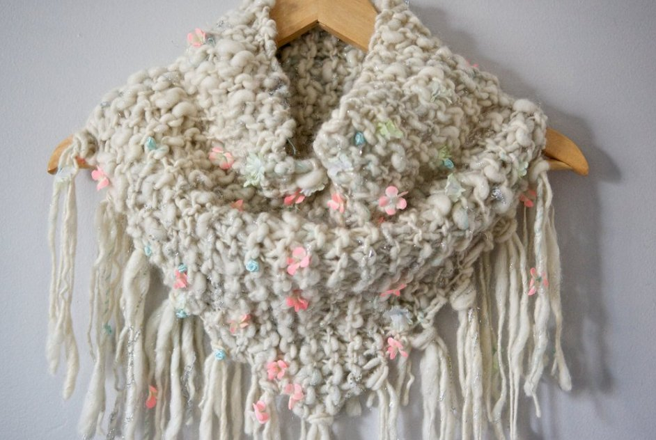 Knit Collage Patterns - Keep Me Cozy Fringed Cowl - PDF ...