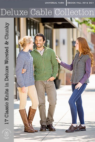 Universal yarns deluxe cable collection patterns deluxe cable image 1 fandeluxe Document