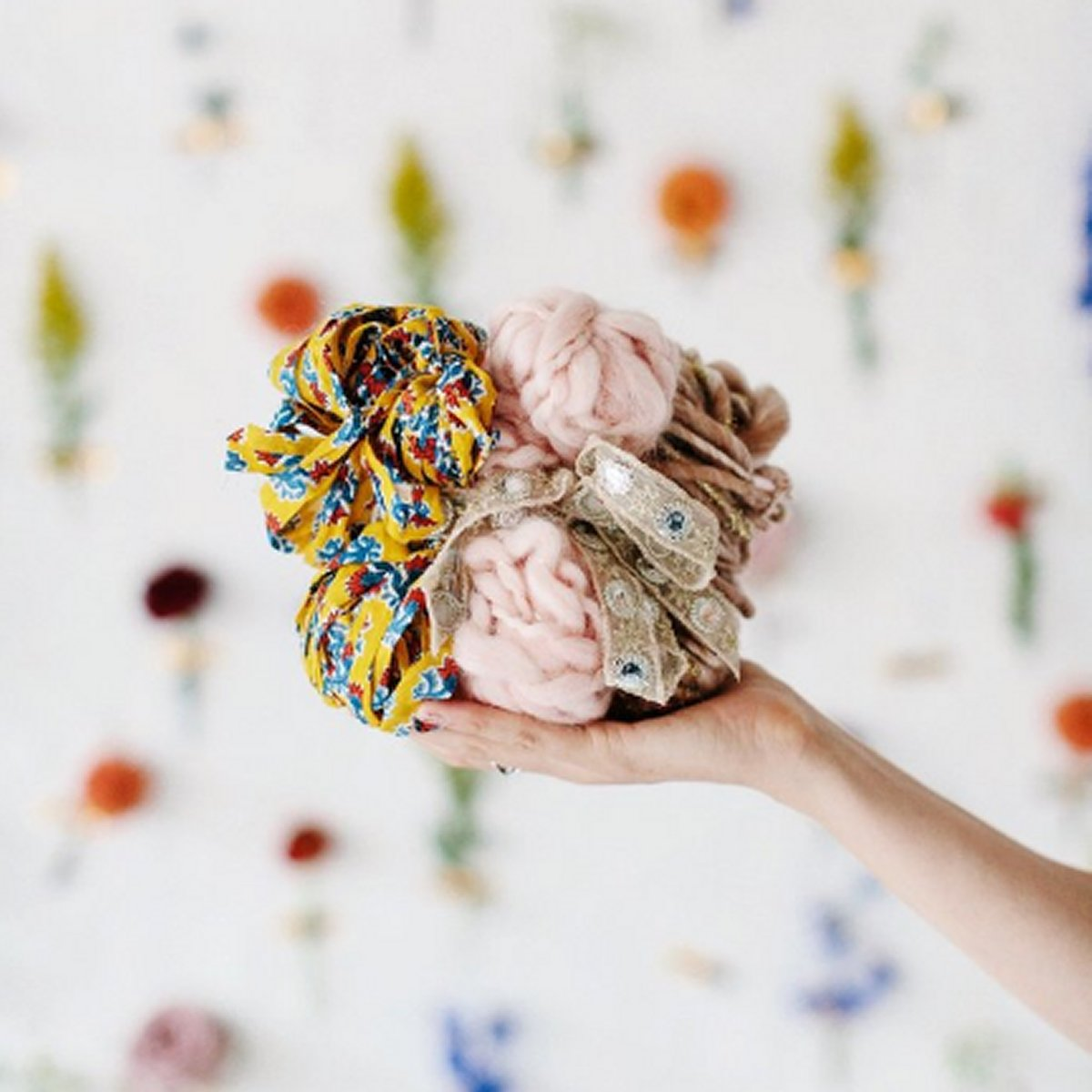 Knit Collage Mini Skein Sampler Kit - Rose