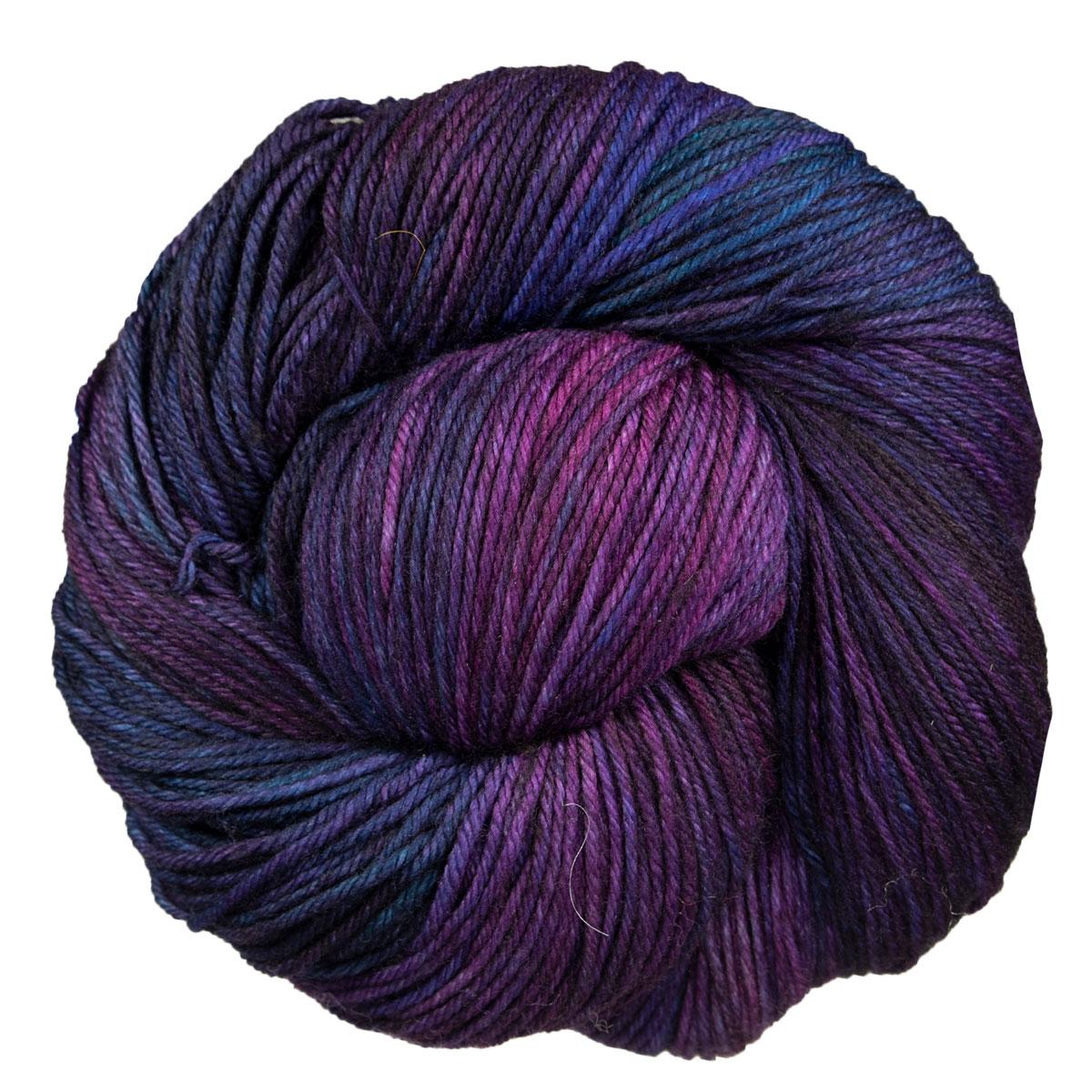 Whales Road Malabrigo Kettle Dyed Sock Yarn