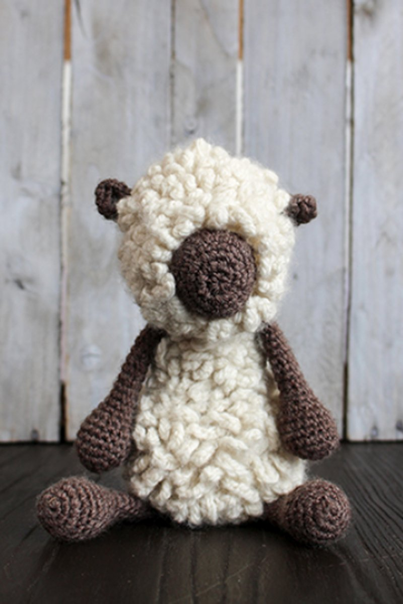 Toft Amigurumi Crochet Kit - Hank the Dorset Down Sheep