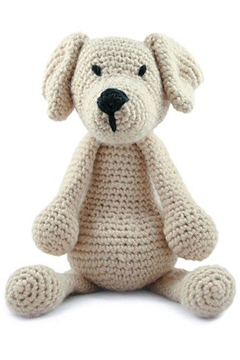 Toft Amigurumi Crochet Kit - Eleanor the Labrador