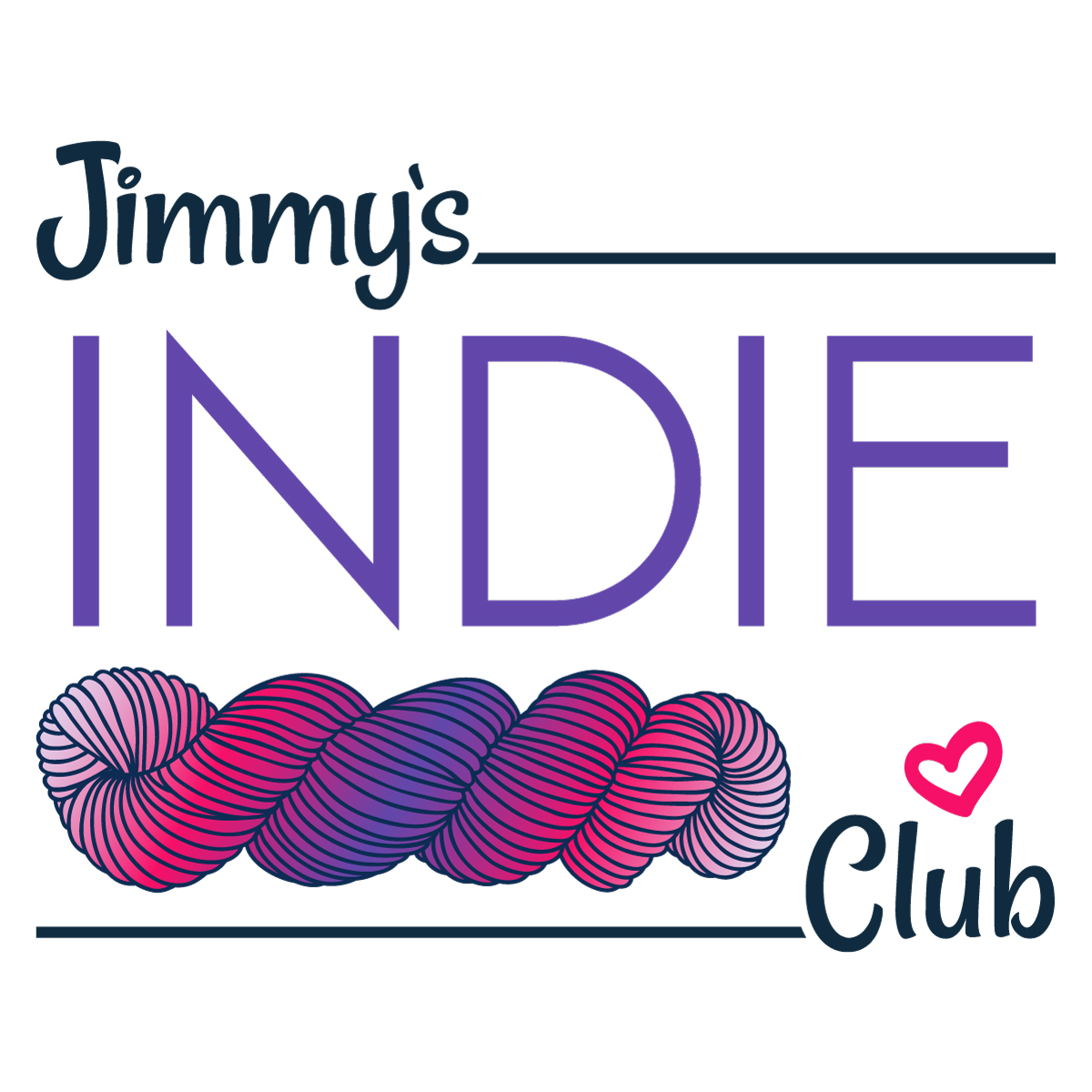 Jimmy Beans Wool Jimmy's Indie Club - *Monthly* Auto-Renew Subscription -  *USA