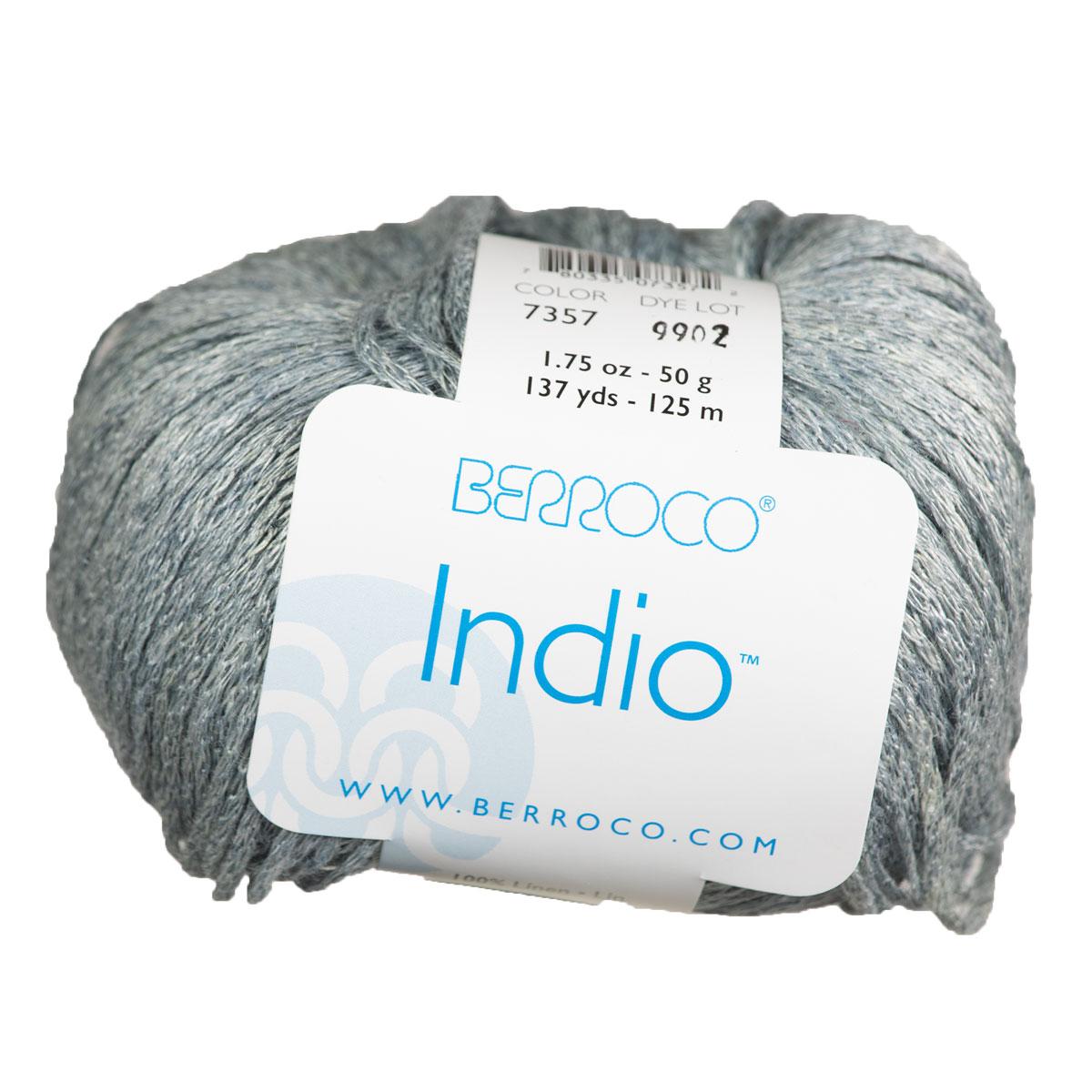 Berroco Linen Stonewash (Indio) Yarn - 7357 Acadia