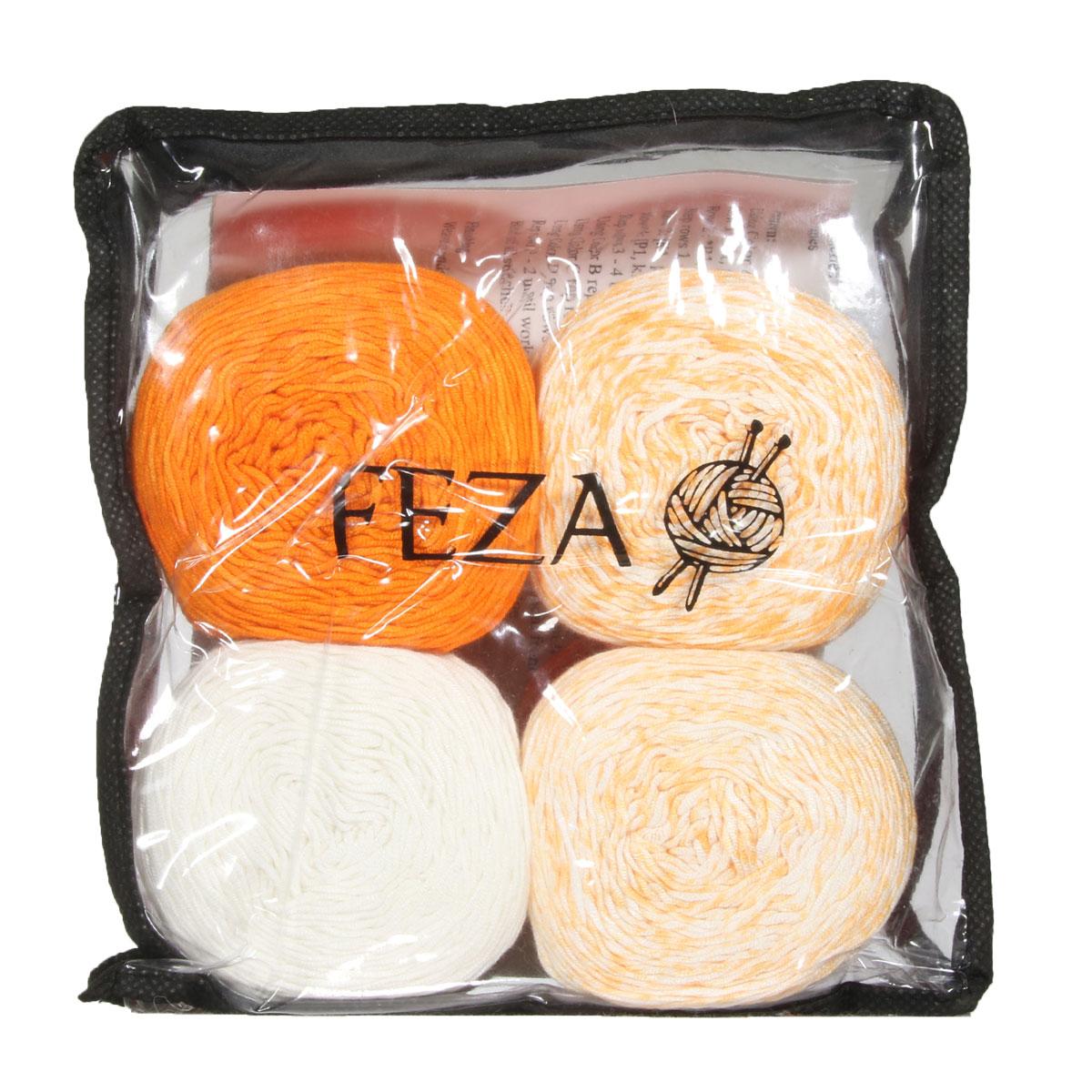 Feza Yarns Baby Gradient Yarn 507 Orange At Jimmy Beans Wool