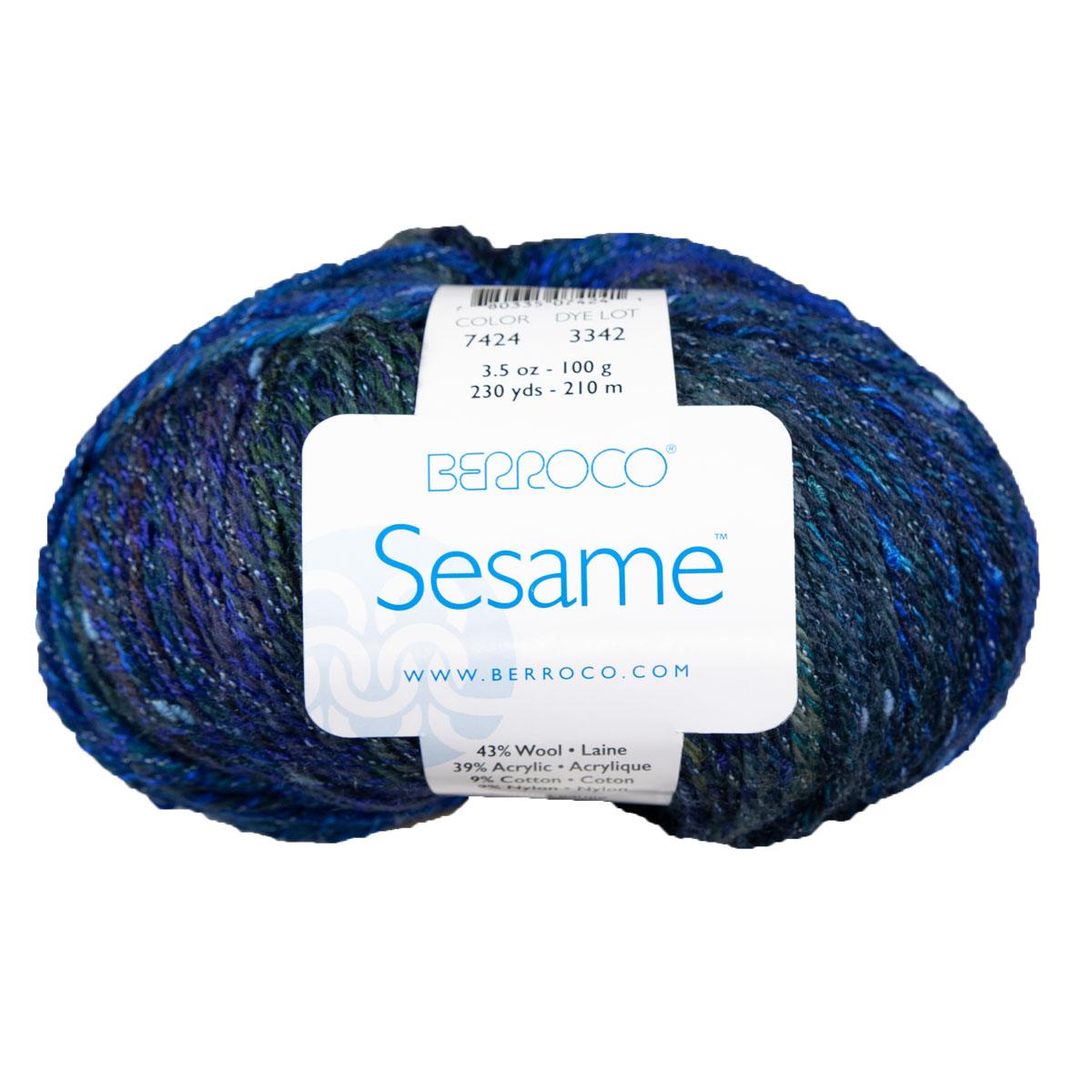 Berroco Sesame 7424 Blue Poppy