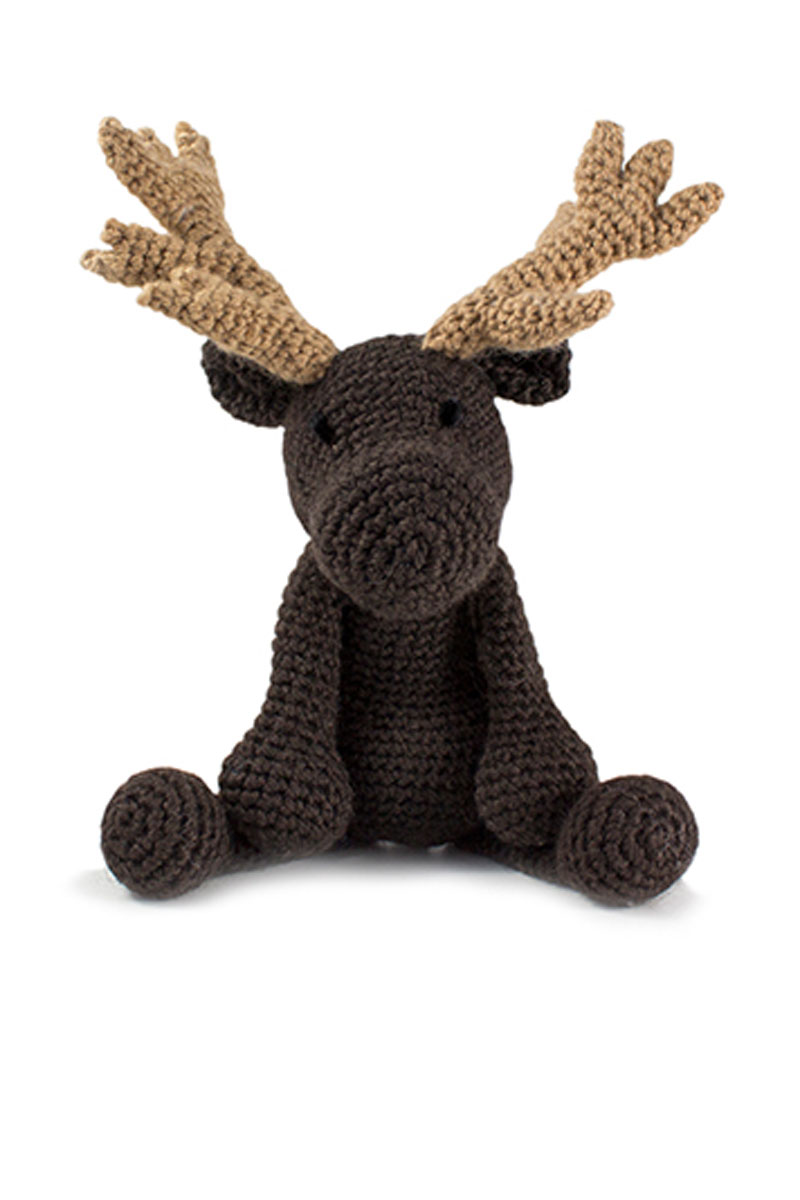 Toft Amigurumi Crochet Kit - Logan the Moose
