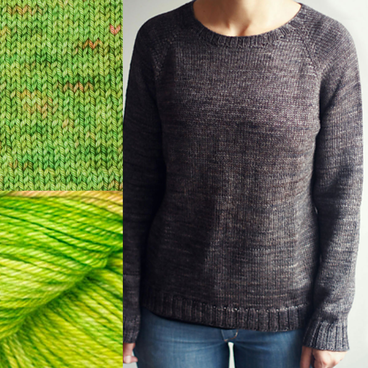 Madelinetosh Sweater Club - Pear Please