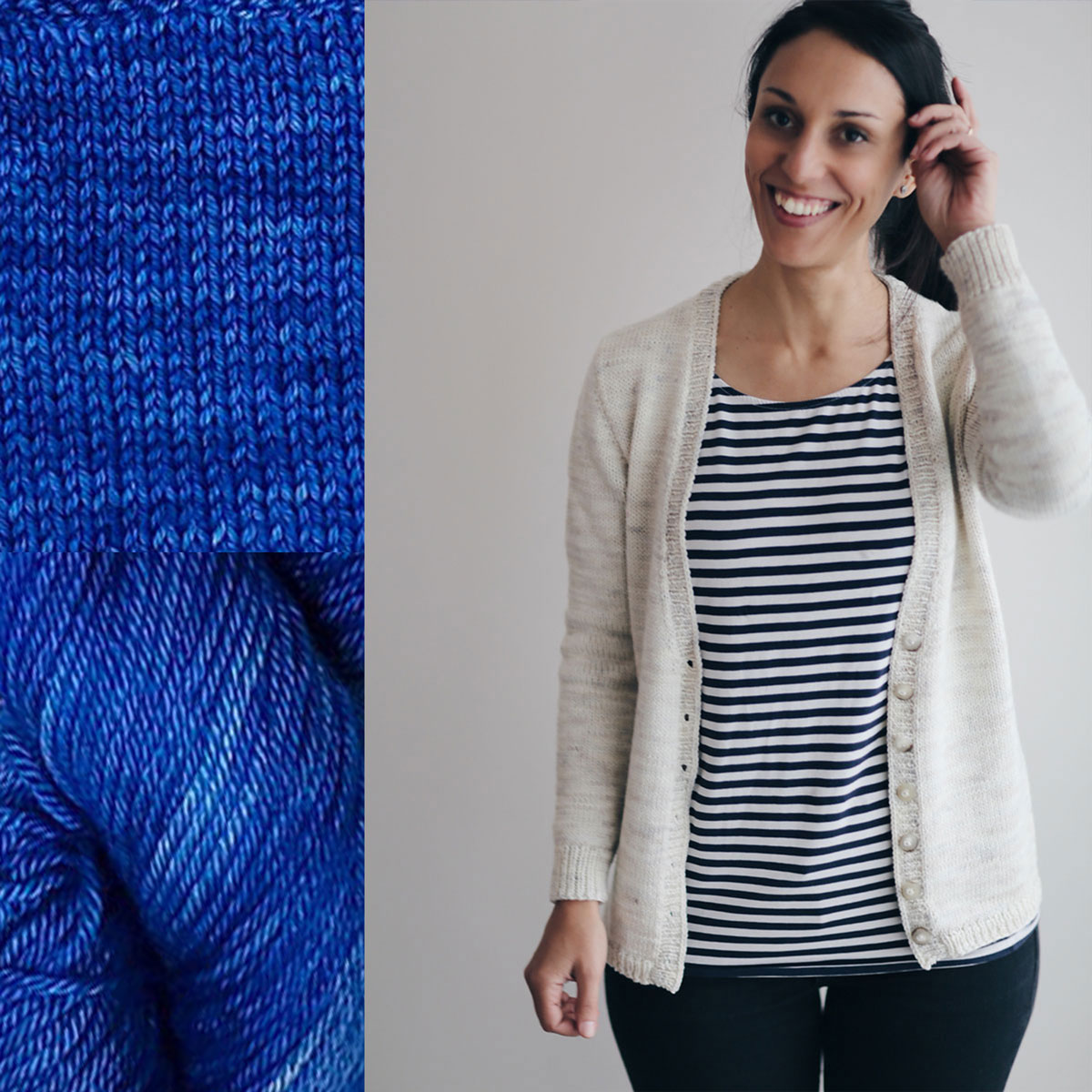Madelinetosh Sweater Club - Rain Pool