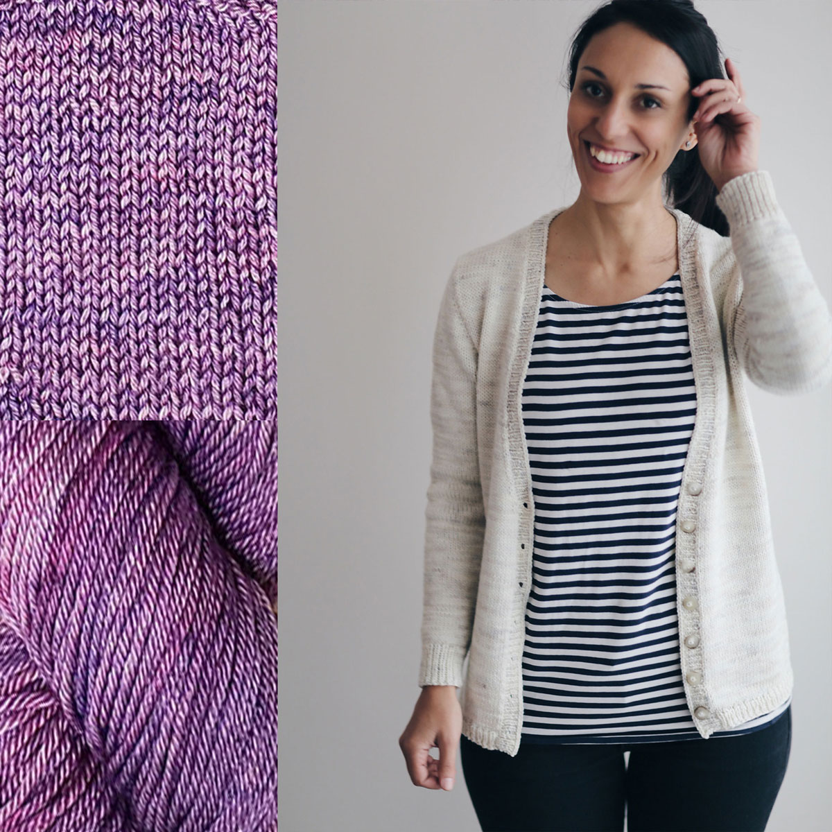 Madelinetosh Sweater Club - Amethyst