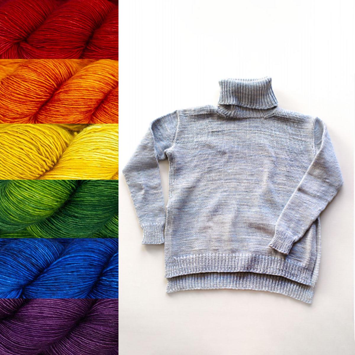 Madelinetosh Sweater Club - Custom Order