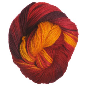 Lorna's Laces Shepherd Worsted Yarn - Flames