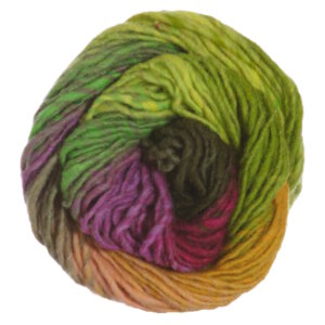 Noro Kureyon Yarn - 095 Lime/Hot Pink/Orange