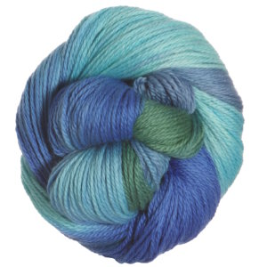 Lorna's Laces Shepherd Worsted Yarn - Icehouse (Blues & Green)