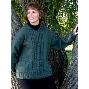 Knitting at Knoon Patterns - My Favorite Cardi-again Pattern