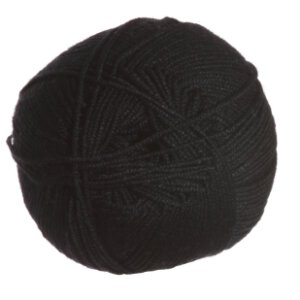 Crystal Palace Panda Silk Yarn - 3202 Jet Black