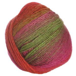 Crystal Palace Mini Mochi Yarn - 106 Strawberry-Limes Rainbow (Discontinued)