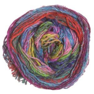 Noro Silk Garden Sock Yarn - 087 Turquoise, Pink, Yellow