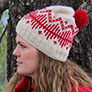 Justine Chenel Designs Patterns - Alpine Lakes Beanie - PDF DOWNLOAD