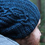 Justine Chenel Designs Patterns - Western Slope Beanie - PDF DOWNLOAD