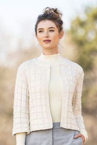 Blue Sky Fibers The Classic Series Patterns - Galena Cardi - PDF DOWNLOAD Pattern