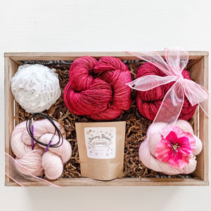 Jimmy Beans Wool The Starflake Bouquet - Coquette Deux / Rose