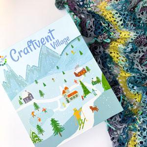 Jimmy Beans Wool Craftvent Calendar - 2021 - Tidings Wrap - Buttermint